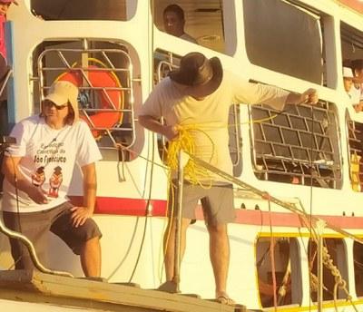2º Dia da Expecição Científica do Rio São Francisco