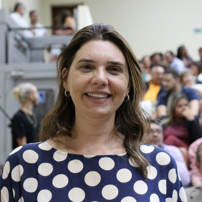 A deputada estadual Jó Pereira fala sobre a posse do reitor Josealdo Tonholo