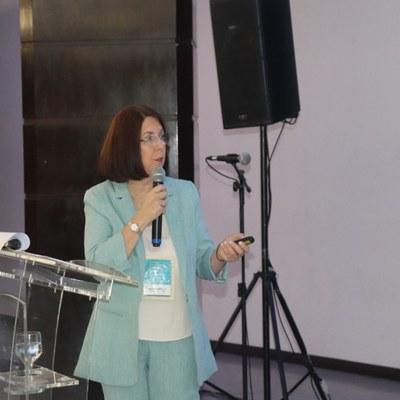 Andréa Mello, psicóloga de pacientes com ELA