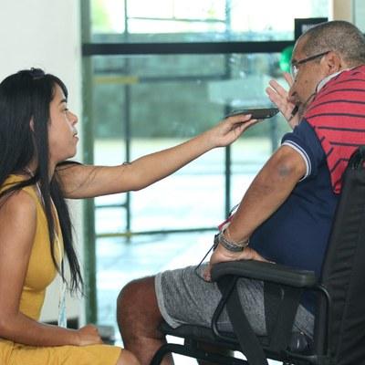 Antônio Jorge de Melo, paciente com ELA