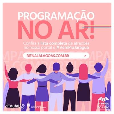 Elvira Barreto convida para a 9ª Bienal Internacional do Livro de Alagoas