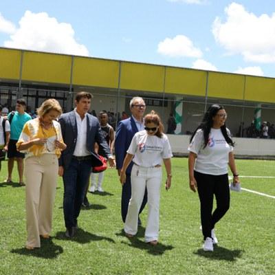 Leonéa Santiago destaca a importância do Complexo Esportivo da Ufal